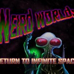 Weird Worlds title screen
